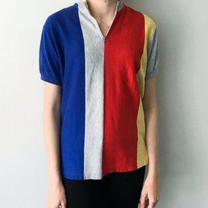 90s Vintage Stripe Shirt Polo Ralph Lauren Small
